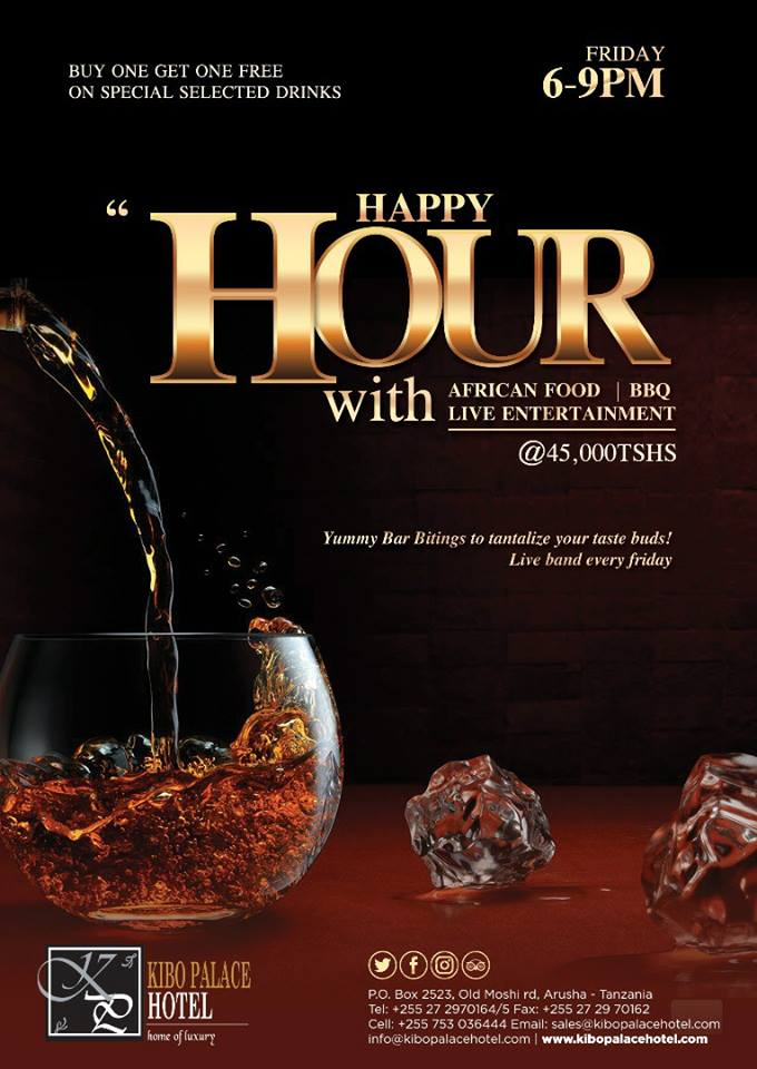 happy hour with BBQ